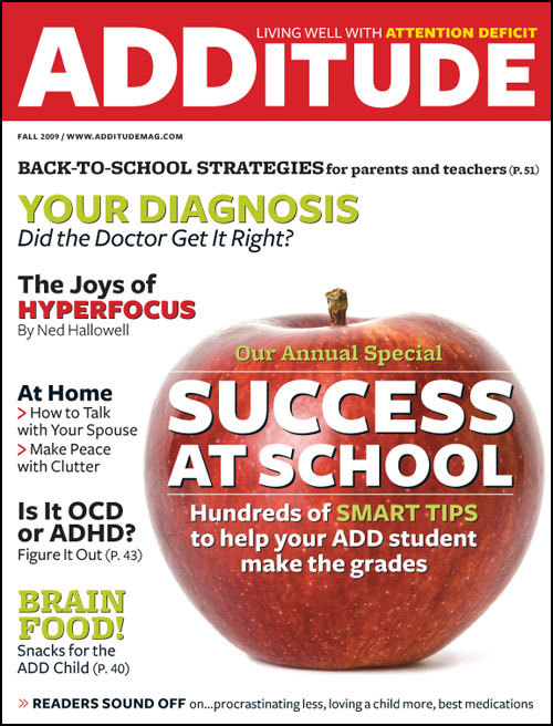 Fall 2009: The Annual Success at School Issue