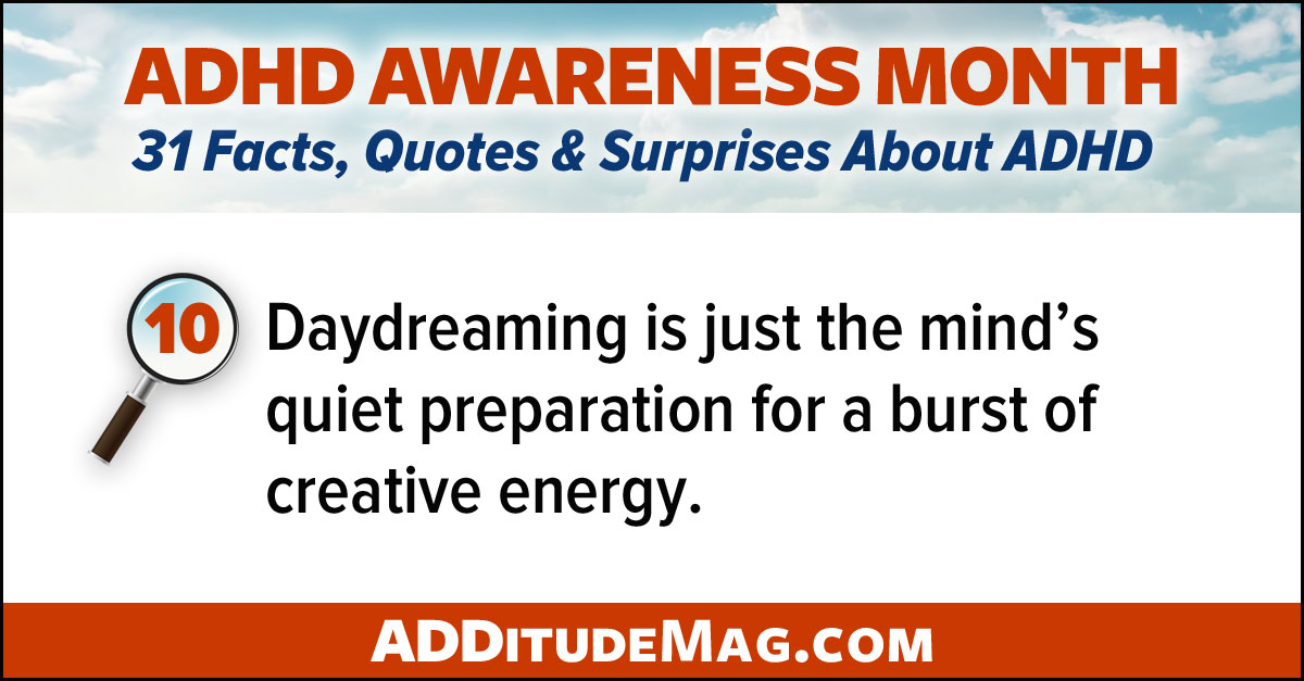 Daydreaming and ADHD