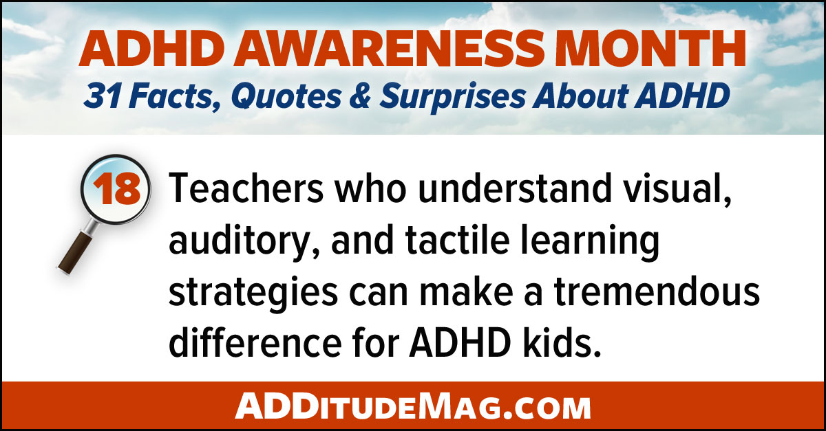 ADHD learning styles