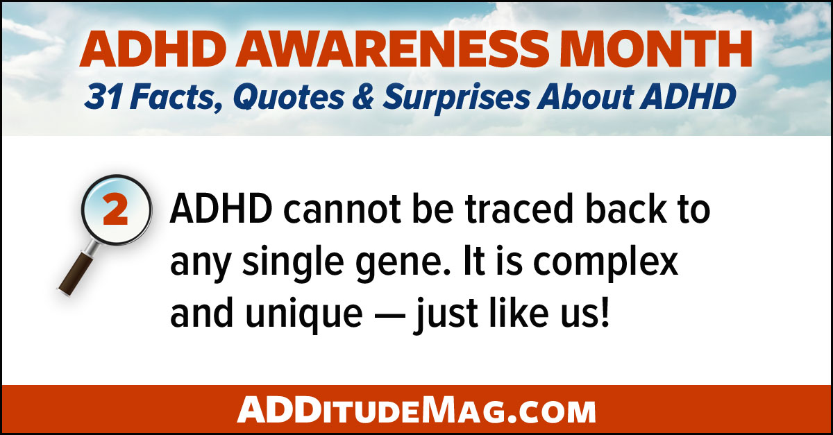 ADHD is complex and unique