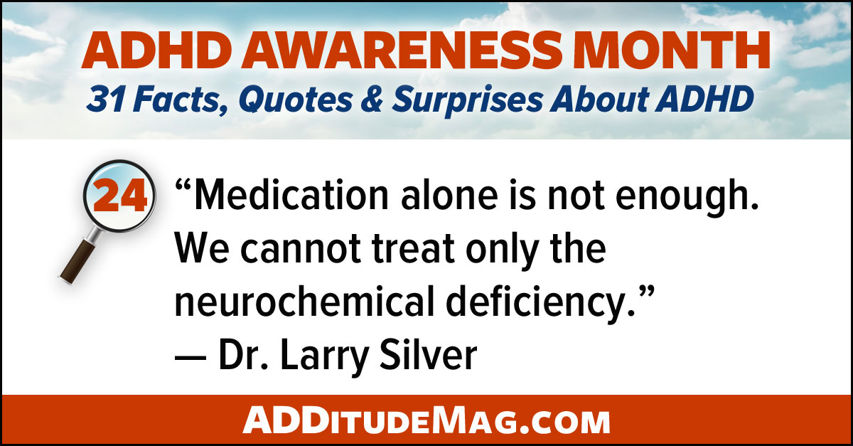 ADHD medication and behavior therapy