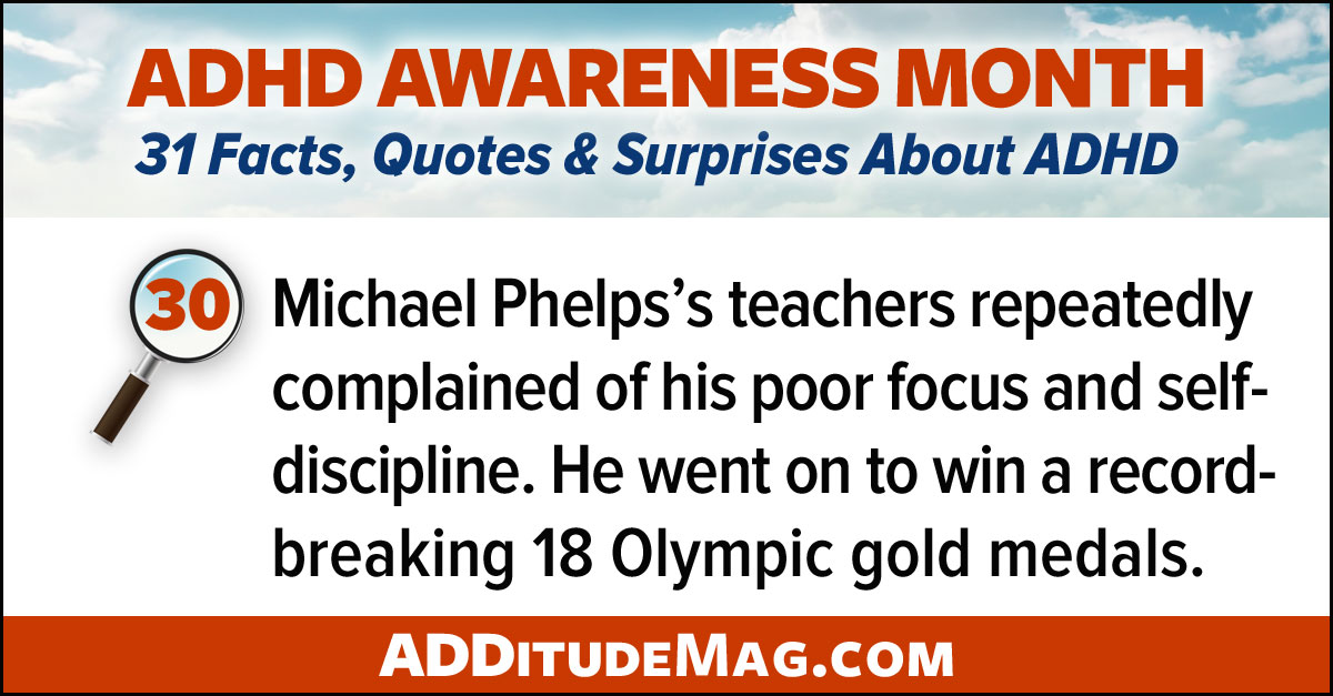 Michael Phelps and ADHD