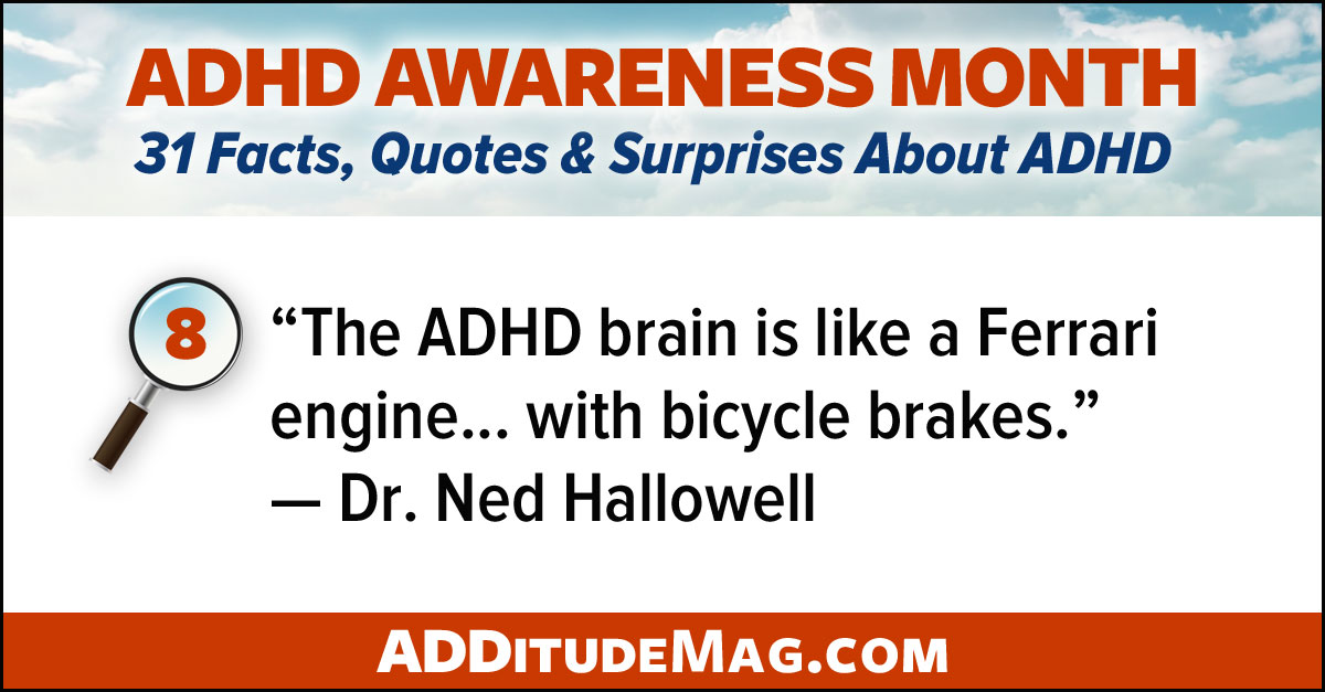 Positive aspects of the ADHD brain