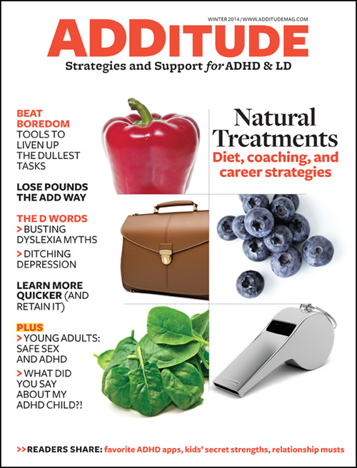 Winter 2014: Natural ADHD Treatments