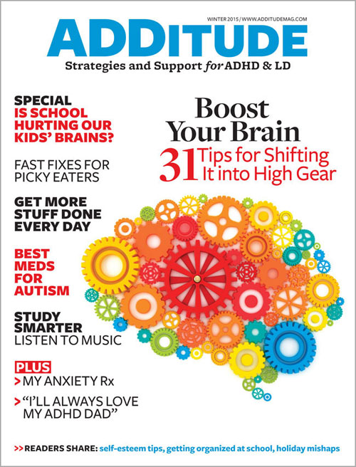 Winter 2015: Boost Your ADHD Brain