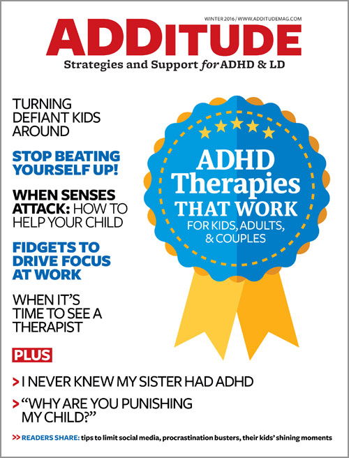 Winter 2016: ADHD Therapies That Work