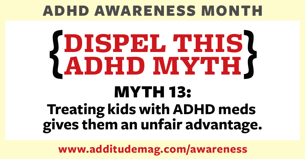 Myths about ADHD medication