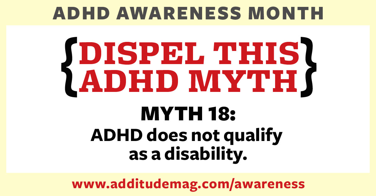 Is ADHD a disability?