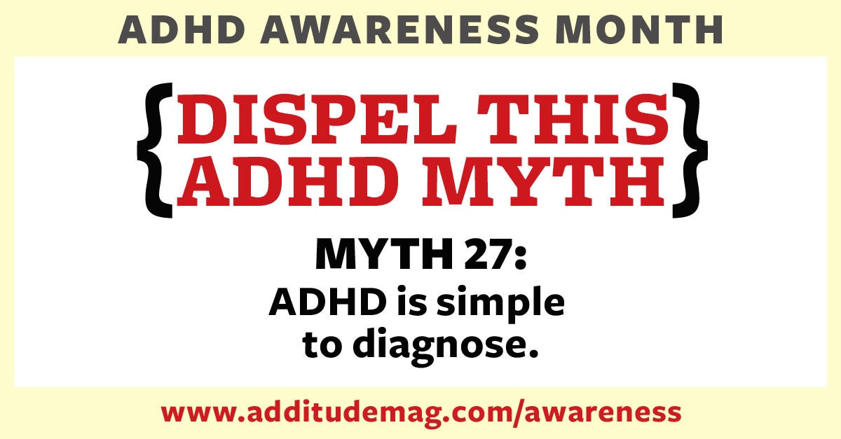 ADHD is not a simple diagnosis