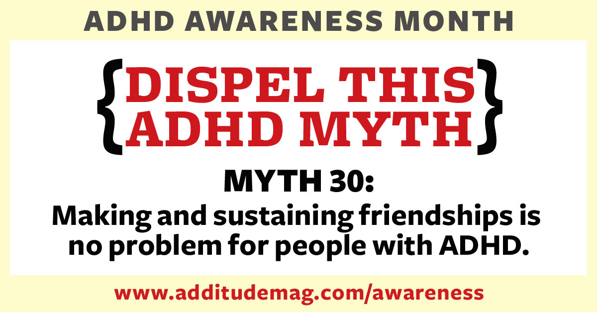 Social skills for adults with ADHD