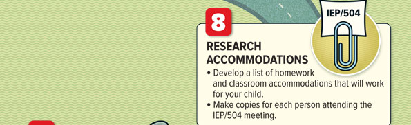 Accommodations that work for students with ADHD
