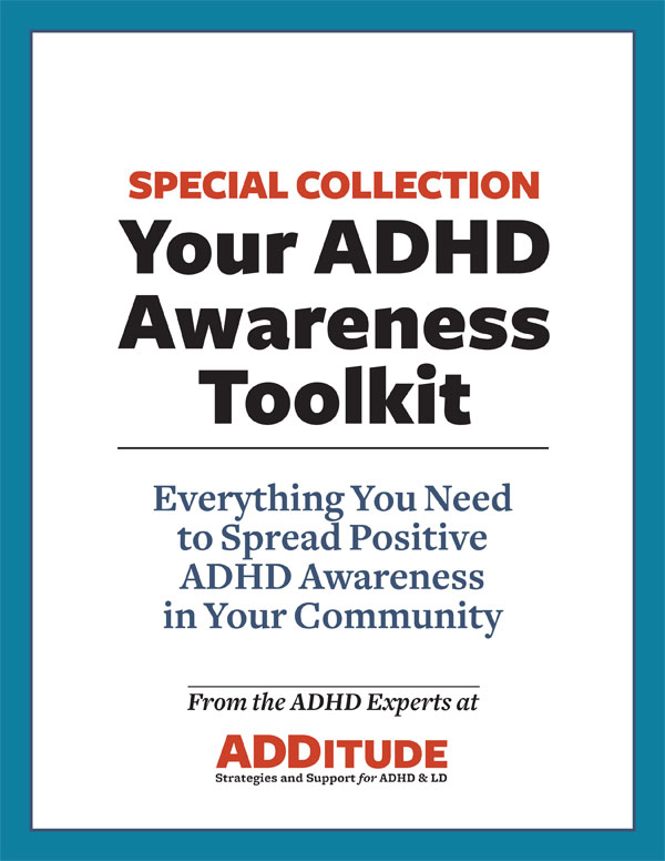 Toolkit for ADHD Awareness Month: Spread the Word about ADHD