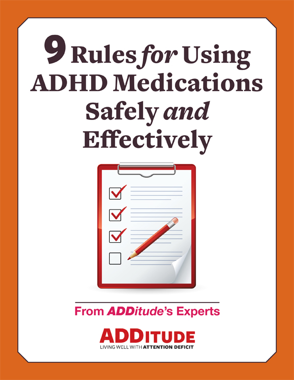 Rules for Using ADHD Medication Safely and Effectively