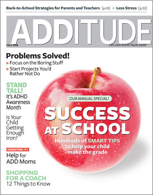 Fall 2008: The Success at School Issue