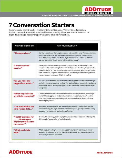 E-Mail Konversationsstarter