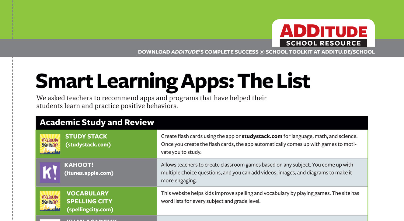 Smart Learning Apps
