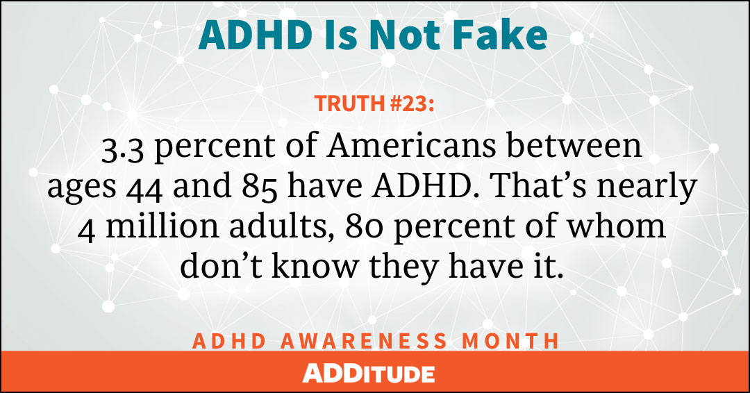 ADHD and the fear of failure