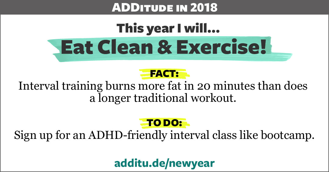 ADHD and interval training