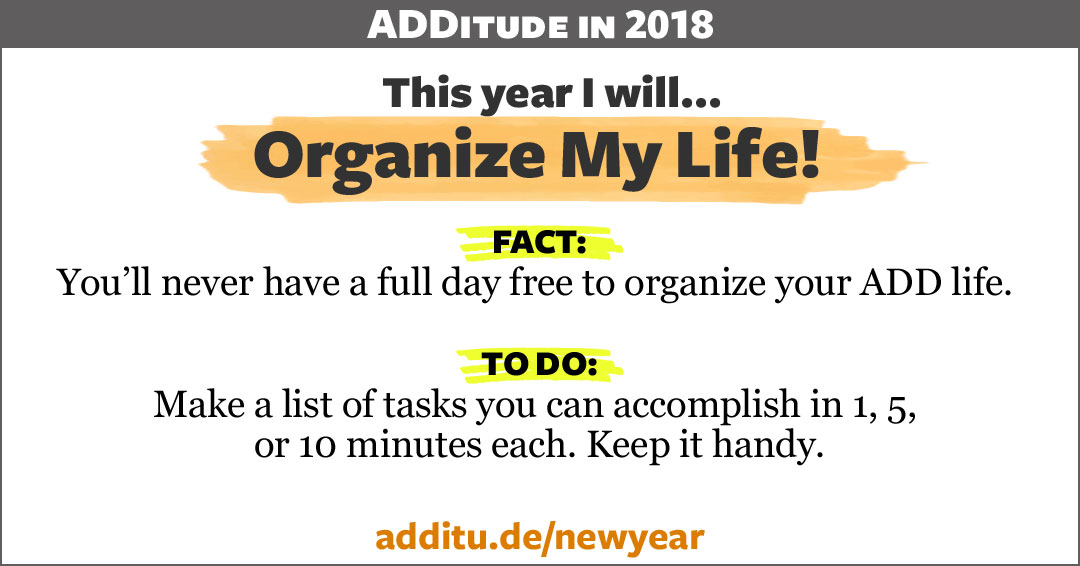 ADHD productivity lists