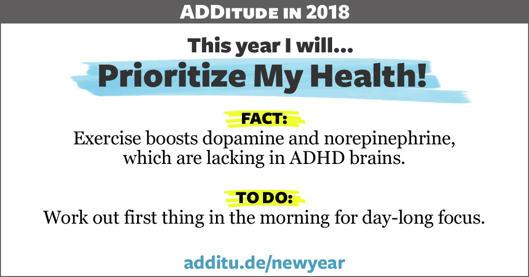 ADHD and dopamine from exercise